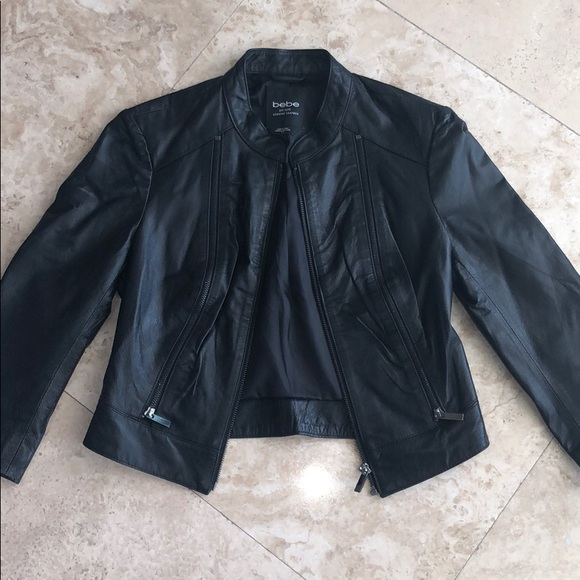bebe Jackets & Blazers - BeBe leather jacket